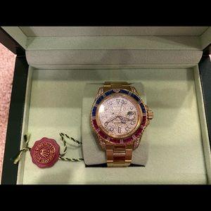 UA Rolex GMT with diamonds